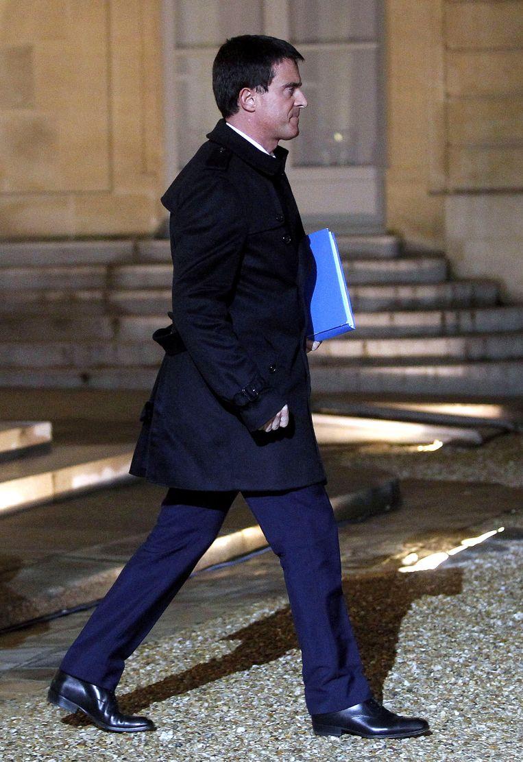 Manuel Valls Beeld getty
