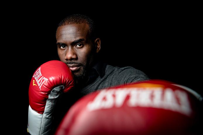 De Rotterdamse bokser Stephen Danyo.