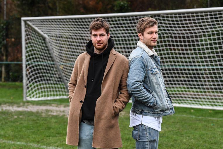 Raf Leemans (l.) en Dean Van Den Winckel (r.).