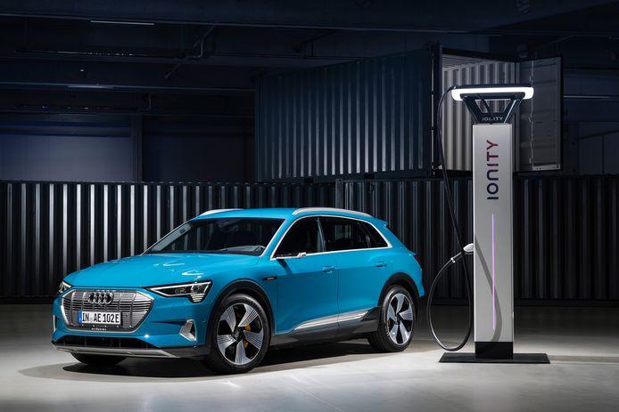 De Ionity-keten is opgezet door Duitse autofabrikanten, maar ook andere merken auto's kunnen aangesloten worden.