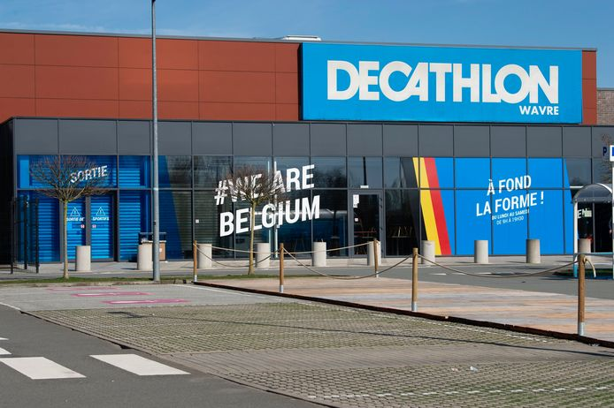 Magasin Decathlon à Wavre (archive d'illustration)