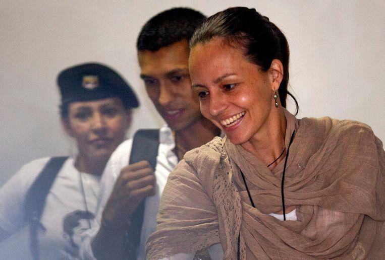 Tanja Nijmeijer was als vertaler en onderhandelaar betrokken bij de vredesbesprekingen op Cuba. Beeld AP