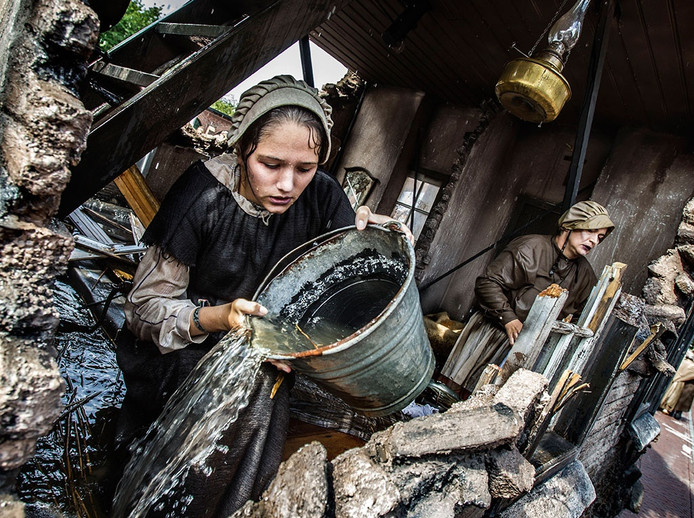 De winnaars Bloed, zweet en tranen met de Watersnoodramp van Nieuwkuijk