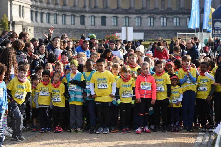 Kids run Martathon Brussel