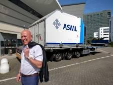 Eén chipmachine van ASML vult tweeënhalve Boeing 747