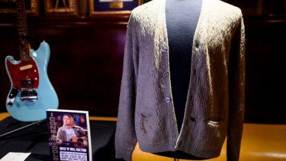 Beroemd vest van Kurt Cobain onder de hamer voor meer dan 300.000 euro