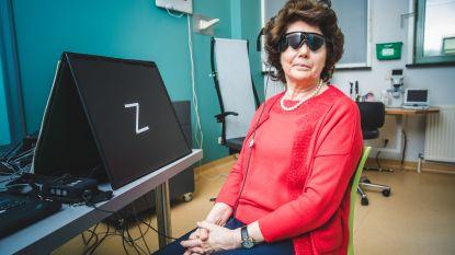"""Eerste Belg met bionisch oog getuigt: """"Ik kan weer letters zien. En hopelijk straks ook mijn kleinkinderen"""""""