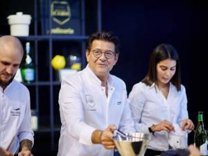 Yves Mattagne à la tête d'un restaurant étoilé au cœur du Salon de l'Auto