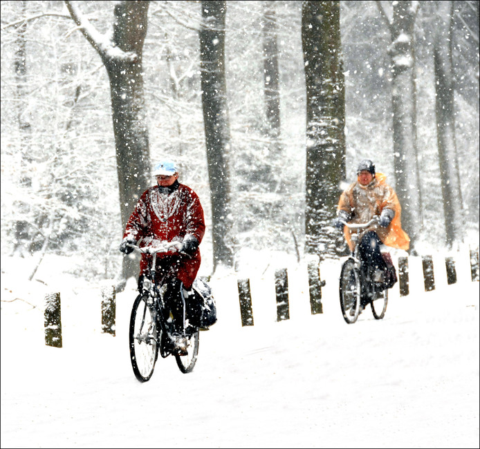 Vroege winter in Breda?