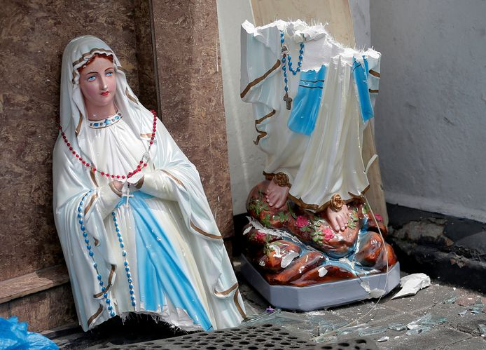 Beeld van de heilige Maria.