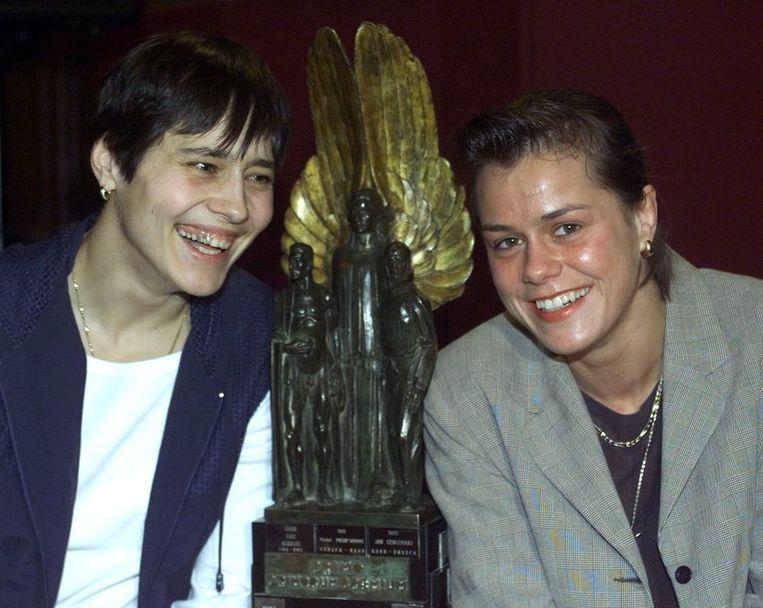 Ulla Werbrouck en Gella Vandecaveye.