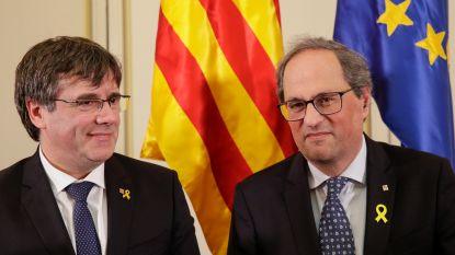 Puigdemont en Torra trekken democratische waarden van Europees Parlement in twijfel