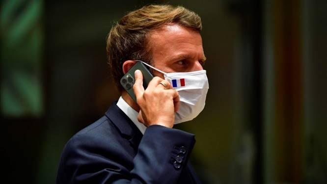 Biden belt Franse president Macron als eerste leider van EU-land