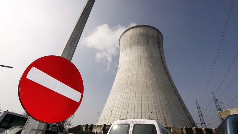 De kerncentrale van Tihange Beeld EPA