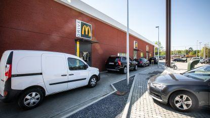 Heropening drive-ins van McDonald's verloopt vlot