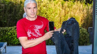 """Ongeval met kettingzaag loopt goed af dankzij … iPhone X: """"Zelfs mijn smartphone kan het navertellen"""""""