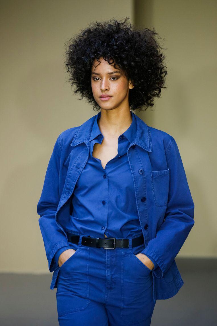 'Ik draag nog steeds veel Agnès B. Haar kleren vallen altijd goed, ze zijn tijdloos en sober.' Foto Getty Beeld WireImage