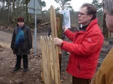 Akkers omgebouwd tot grote tuin