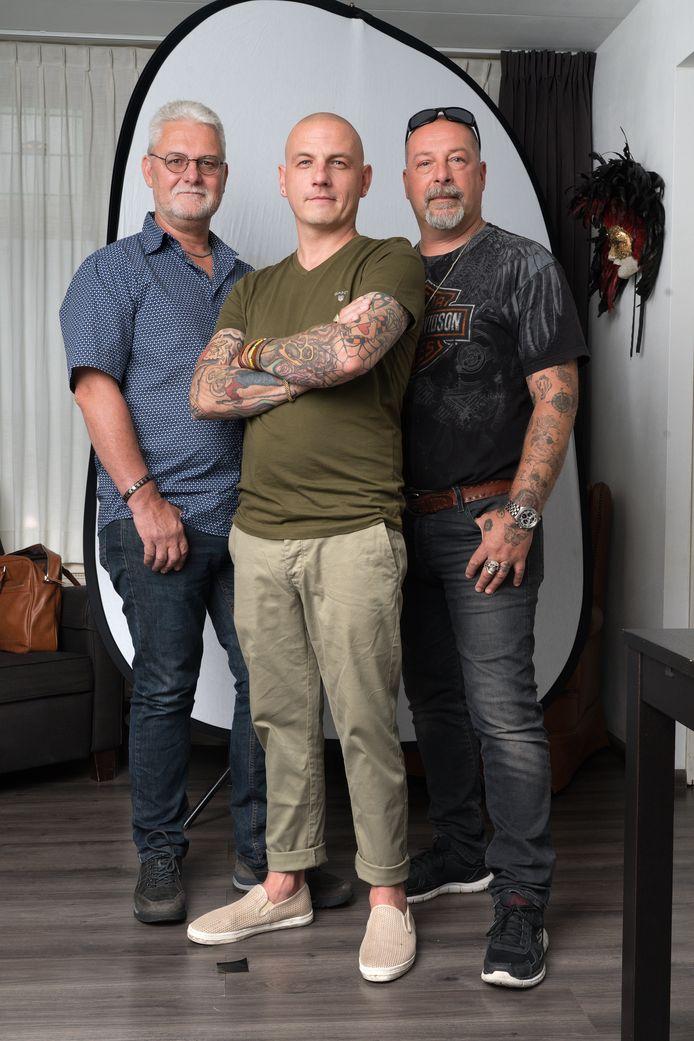 John, Remco  en Robert