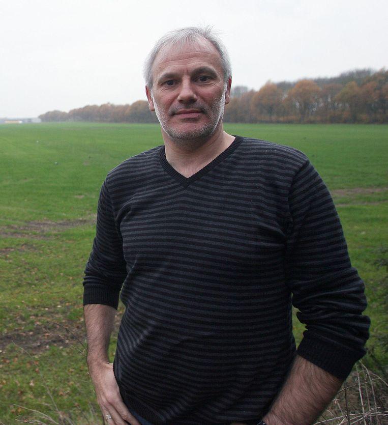Organisator Peter Van Geel.