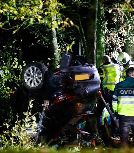 A50 bij Epe weer open na ernstig ongeval met auto en motor