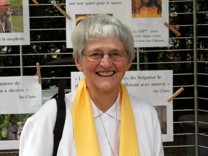 Zuster Bernadette Moriau. (Diocese of Beauvais via AP)