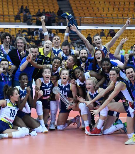 De Kruijf verovert met Conegliano wereldtitel volleybal