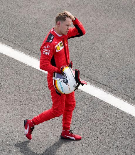 Vettel raakt zelfvertrouwen kwijt: 'Iets fundamenteel mis met de auto of met mij'