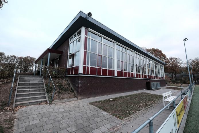 Het clubgebouw van MvR wordt met vier kleedkamers uitgebreid.