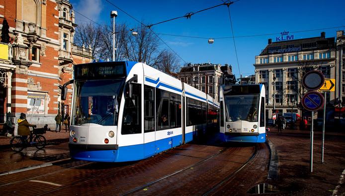 Meer loon voor trambestuurder Amsterdam.