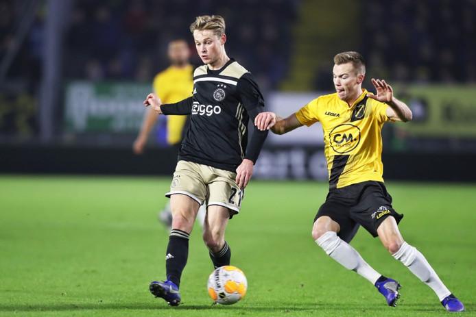 Frenkie de Jong van Ajax.