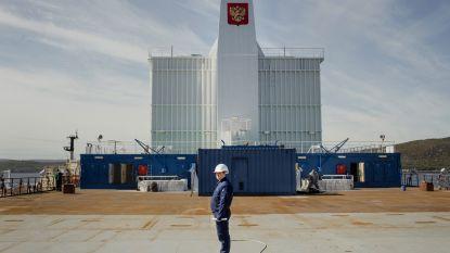 """Russen laten eerste drijvende kerncentrale te water: """"Dit ontwerp kent geen gevaren"""""""