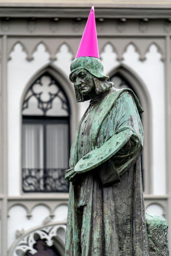 Jeroen Bosch met een hoedje