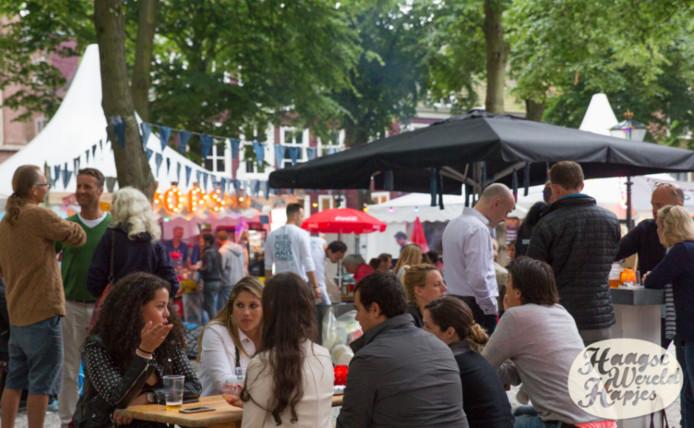 Vorig jaar vond de eerste editie plaats van Haagse Wereld Hapjes aan het Lange Voorhout.
