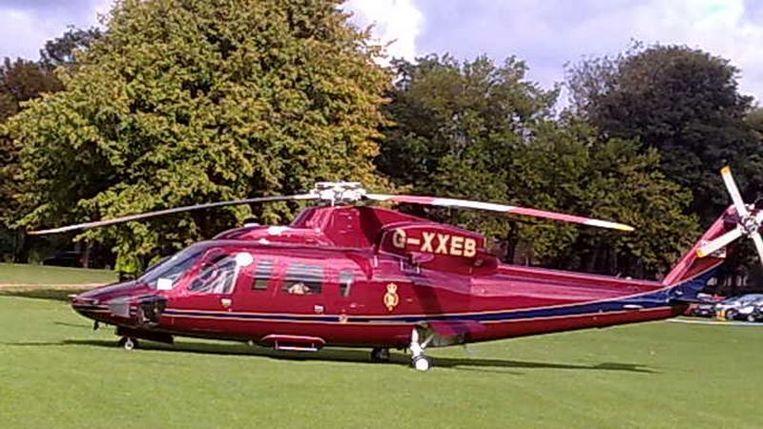 De helikopter die de noodlanding moest maken. Beeld Wikipedia
