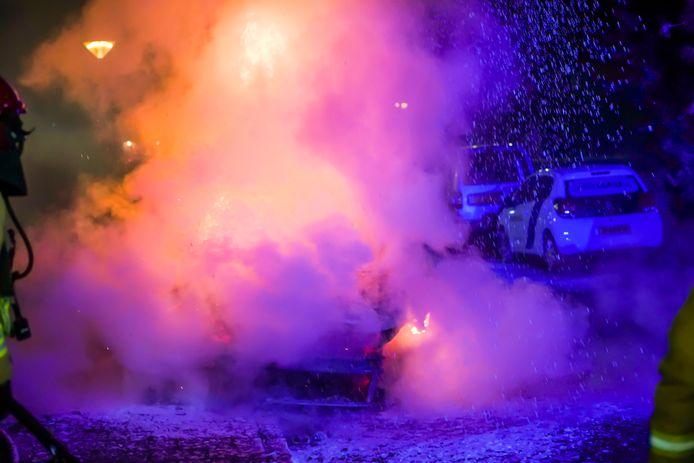 Autobrand in Geldrop.