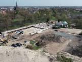 Zo ziet sloop van zwembad Kampen er met een drone uit