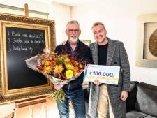 Dolgelukkige Albert uit Markenesse wint 100.000 euro in BankGiro Loterij en schenkt deel geld aan kinderen