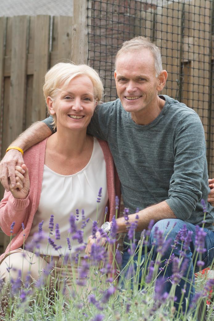 Jan Alsemgeest en Helma Bekker-Alsemgeest trouwden op 1 juli dit jaar.