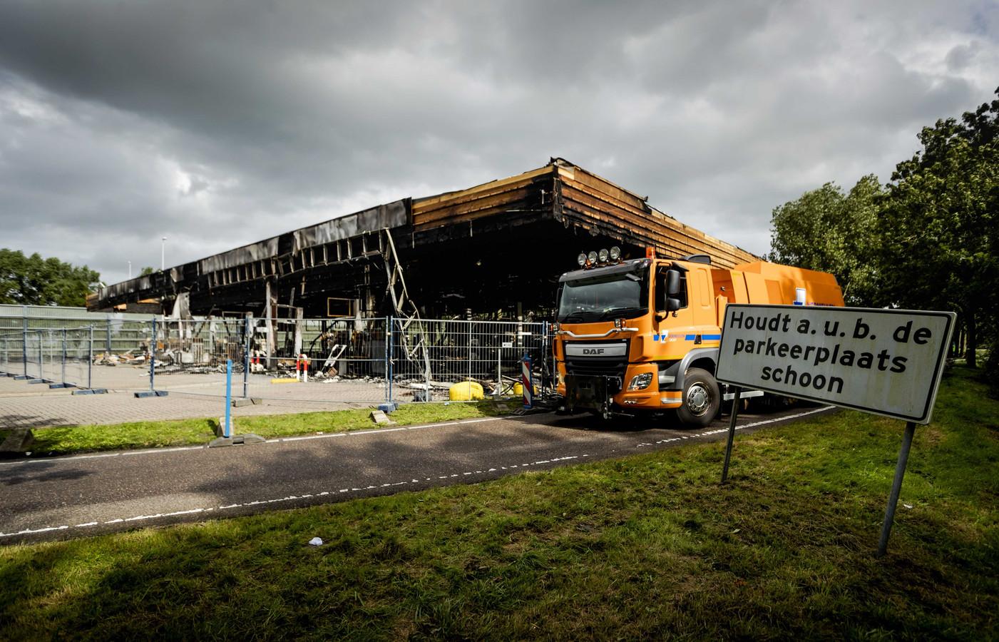 40644bbcde0 Tankstation De Andel langs de A12 is verwoest nadat daar brand heeft  gewoed. (Archieffoto
