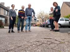 Bewoners Banjostraat in Etten-Leur zijn het slechte wegdek beu