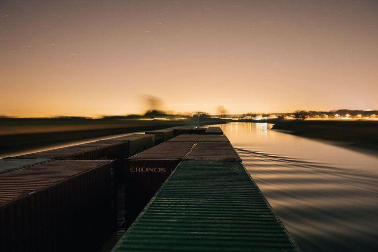 Varen op de IJssel. Beeld Marcel Wogram
