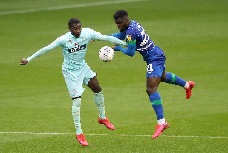 Osayi-Samuel (rechts).