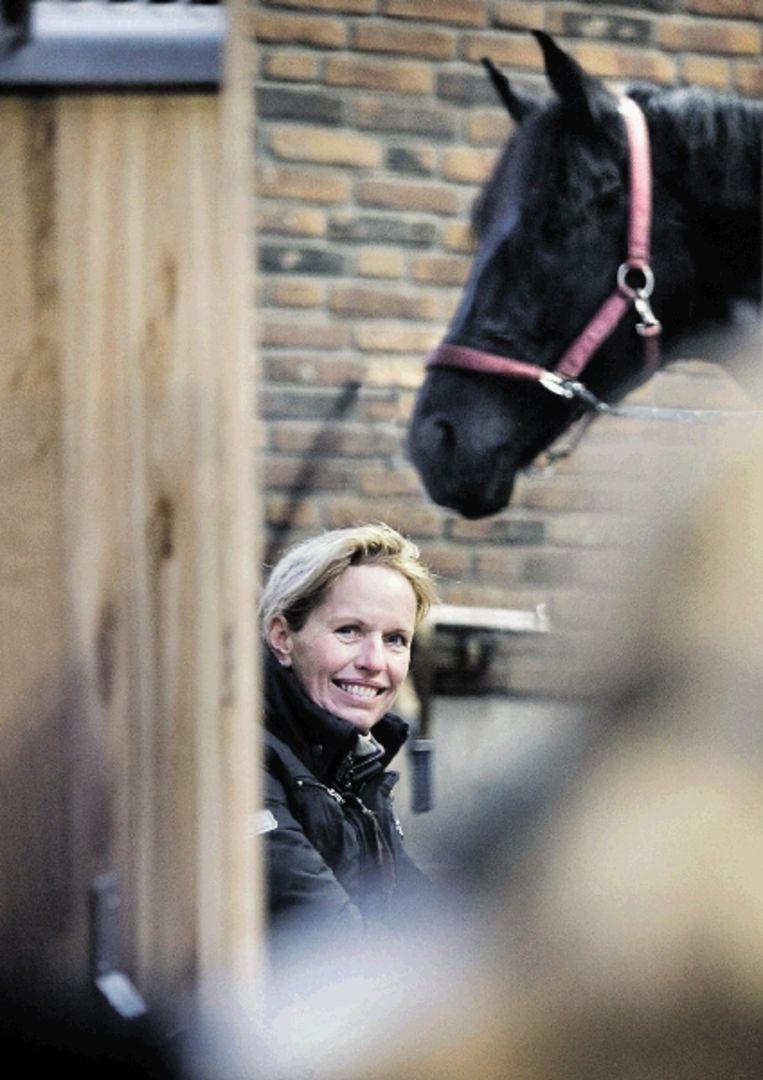 Anky van Grunsven: 'Als alles altijd goed gaat, maakt dat je minder gretig.' ( FOTO WERRY CRONE, TROUW) Beeld