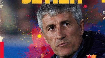 FC Barcelona zet coach Valverde aan de deur, 61-jarige Setién volgt hem op