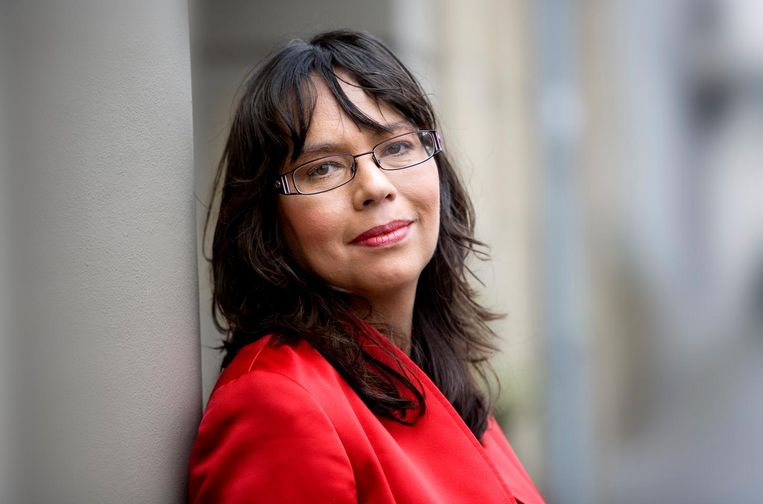 Historicus Amanda Kluveld. Beeld HH / Arenda Oomen