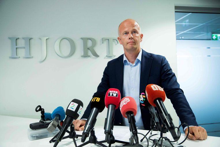 Svein Holden, de advocaat van de familie Hagen.
