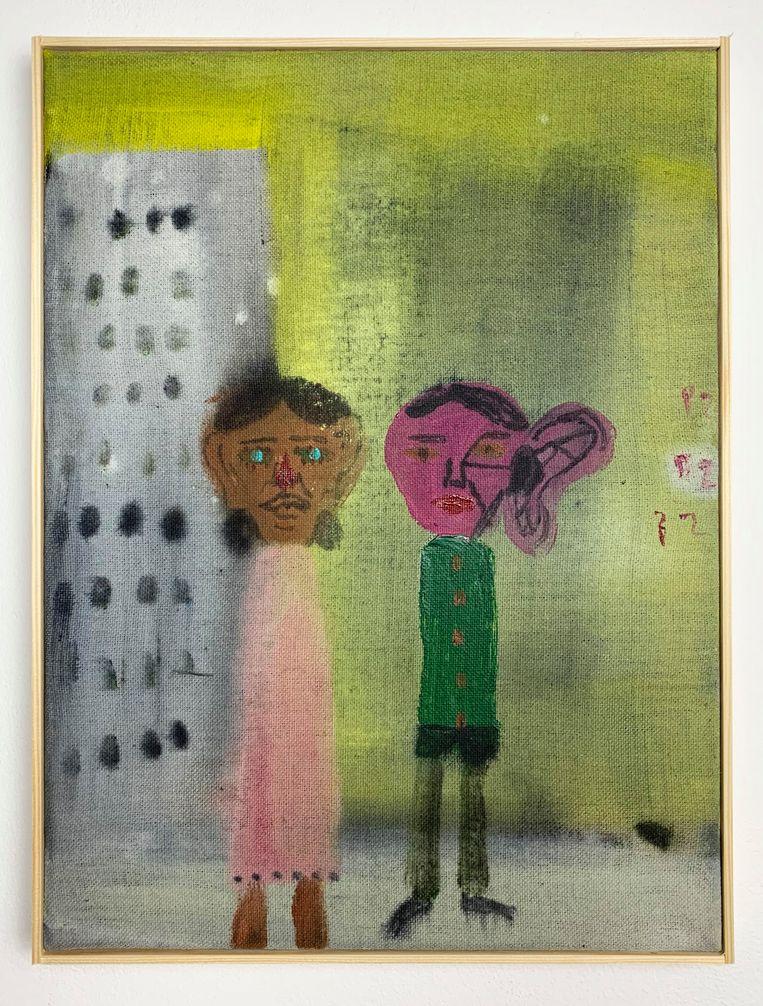 David Noro - Someone's Always Listening Althuis Hofland Fine Arts  Beeld GALLERY VIEWER