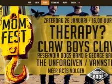 MOMfest naar Noordkade en strikt in Therapy? en Claw Boys Claw grote namen