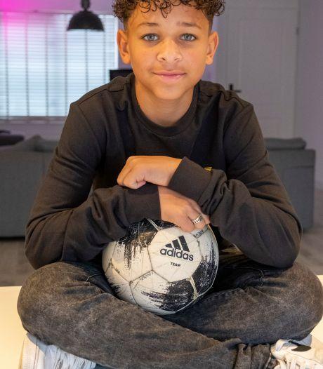 Of Kenji (13) in Zeeland blijft, hangt af van zijn  voetbalcarrière: 'Als ik gescout word, ben ik weg'